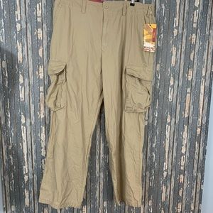 Mossimo Mens Cargo Pants Size Tan 42x32 New